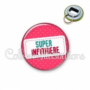 Décapsuleur 56mm Super infirmière (003ROS08)