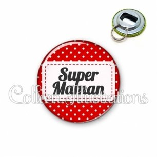 Décapsuleur 56mm Super maman (003ROU01)