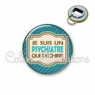 Décapsuleur 56mm Psychiatre qui déchire (004BLE01)