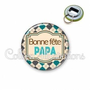 Décapsuleur 56mm Bonne fête papa (004MUL01)