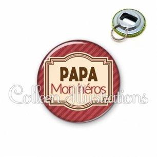 Décapsuleur 56mm Papa mon héros (004ROU01)