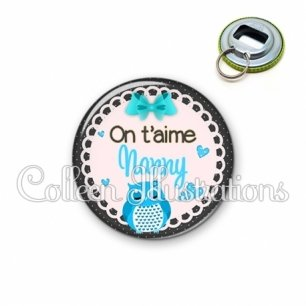 Décapsuleur 56mm Nanny on t'aime (005BLE01)