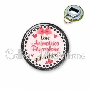 Décapsuleur 56mm Animatrice periscolaire qui déchire (005ROS01)