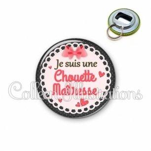 Décapsuleur 56mm Chouette maîtresse (005ROS01)