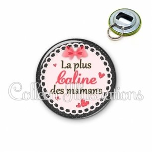 Décapsuleur 56mm Maman la plus caline (005ROS01)