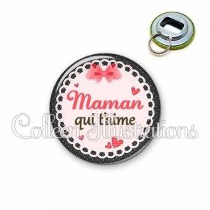 Décapsuleur 56mm Maman qui t'aime (005ROS01)