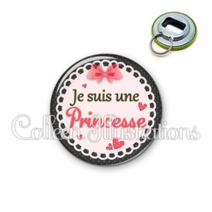 Décapsuleur 56mm Princesse (005ROS01)