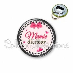 Décapsuleur 56mm Mamie d'amour (005ROS04)