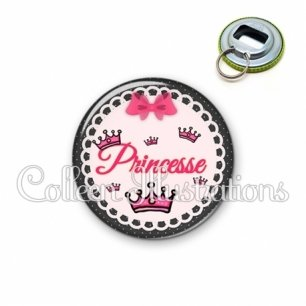 Décapsuleur 56mm Princesse (005ROS04)