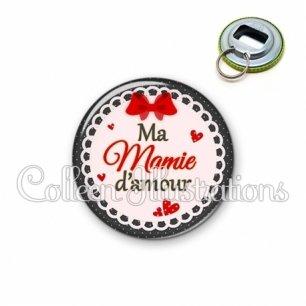 Décapsuleur 56mm Mamie d'amour (005ROU01)