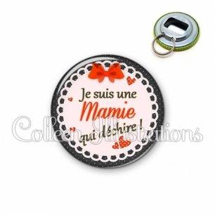 Décapsuleur 56mm Mamie qui déchire (005ROU05)