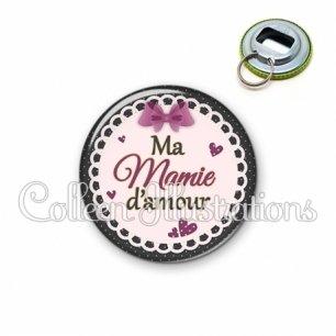 Décapsuleur 56mm Mamie d'amour (005VIO01)