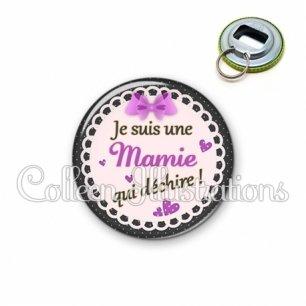 Décapsuleur 56mm Mamie qui déchire (005VIO03)