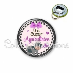 Décapsuleur 56mm Super agricultrice (005VIO05)