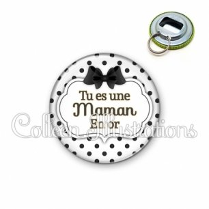 Décapsuleur 56mm Maman en or (006BLA01)