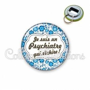 Décapsuleur 56mm Psychiatre qui déchire (006BLE02)