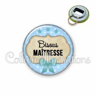 Décapsuleur 56mm Bisous maîtresse (006BLE04)