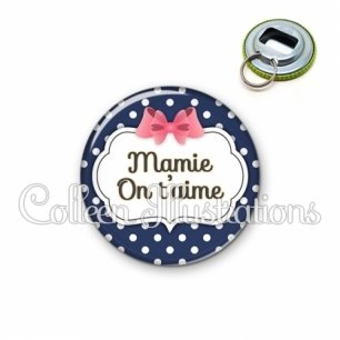 Décapsuleur 56mm Mamie on t'aime (006BLE06)