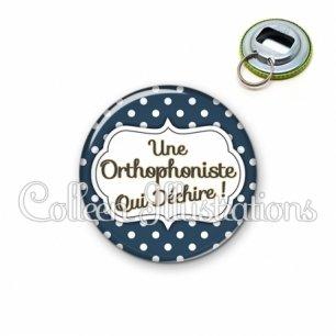Décapsuleur 56mm Orthophoniste qui déchire (006BLE21)