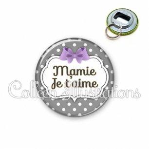 Décapsuleur 56mm Mamie je t'aime (006GRI04)
