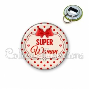 Décapsuleur 56mm Super woman (006MAR03)