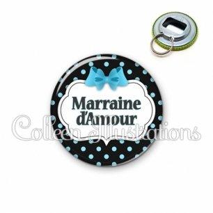 Décapsuleur 56mm Marraine d'amour (006NOI05)
