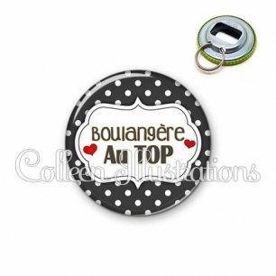 Décapsuleur 56mm Boulangère au top (006NOI11)