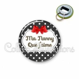 Décapsuleur 56mm Nanny que j'aime (006NOI14)
