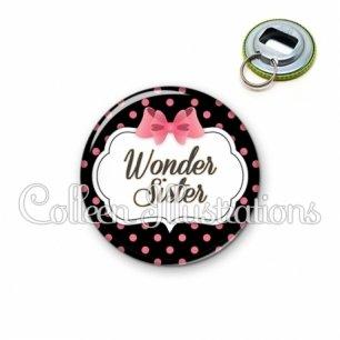 Décapsuleur 56mm Wonder sister (006NOI22)
