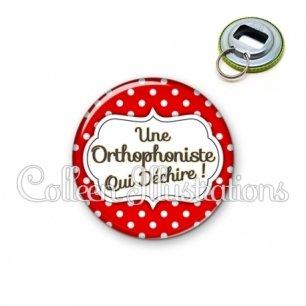 Décapsuleur 56mm Orthophoniste qui déchire (006ROU02)