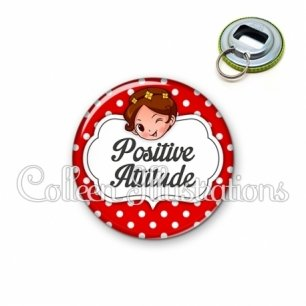 Décapsuleur 56mm Positive attitude (006ROU10)