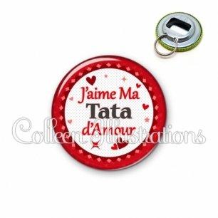 Décapsuleur 56mm Tata que j'aime d'amour (007ROU01)