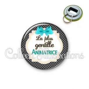 Décapsuleur 56mm Animatrice la plus gentille (008NOI07)