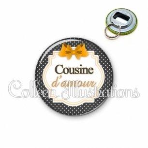 Décapsuleur 56mm Cousine d'amour (008NOI11)