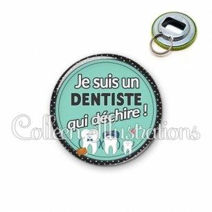 Décapsuleur 56mm Dentiste qui déchire (012VER01)