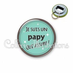 Décapsuleur 56mm Papy qui assure (012VER01)