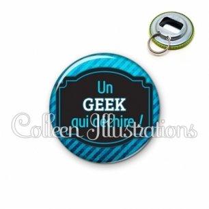 Décapsuleur 56mm Geek qui déchire (013BLE03)