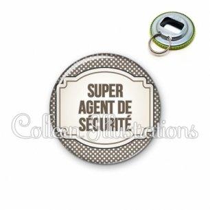 Décapsuleur 56mm Super agent de sécurité (013GRI01)