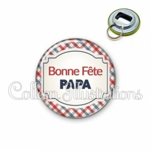 Décapsuleur 56mm Bonne fête papa (013MUL01)