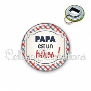 Décapsuleur 56mm Papa est un héros (013MUL01)