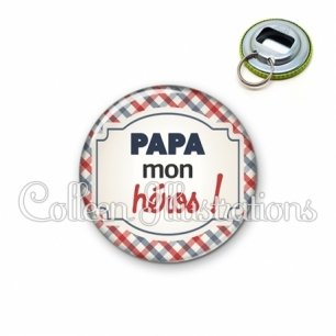 Décapsuleur 56mm Papa mon héros (013MUL01)