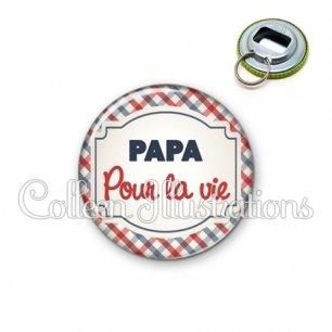 Décapsuleur 56mm Papa pour la vie (013MUL01)