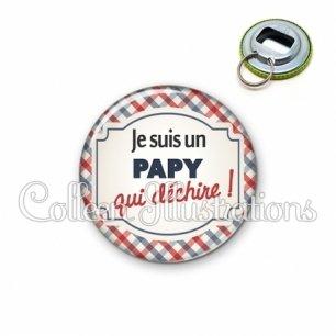Décapsuleur 56mm Papy qui déchire (013MUL01)