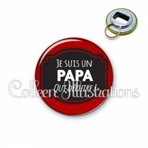 Décapsuleur 56mm Papa qui déchire (013ROU01)