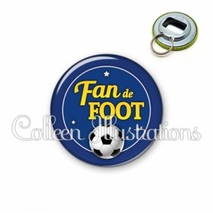 Décapsuleur 56mm Fan de foot (016BLE04)