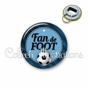 Décapsuleur 56mm Fan de foot (016GRI03)