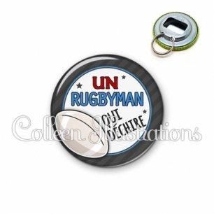 Décapsuleur 56mm Rugbyman qui déchire (016GRI05)