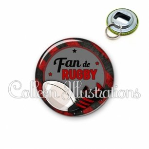 Décapsuleur 56mm Fan de rugby (016MUL04)