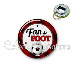 Décapsuleur 56mm Fan de foot (016MUL10)
