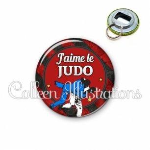 Décapsuleur 56mm J'aime le judo (016MUL13)